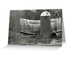 Swayback Barn Greeting Card