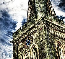 St Marys Church Tower (HDR)  by Vicki Field