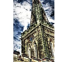 St Marys Church Tower (HDR)  Photographic Print