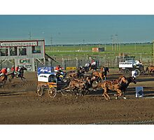 Chuckwagon Races Photographic Print