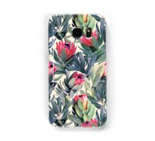Painted Protea Pattern Samsung Galaxy Case/Skin