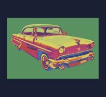 1955 Lincoln Capri Luxury Car Pop Art Kids Clothes