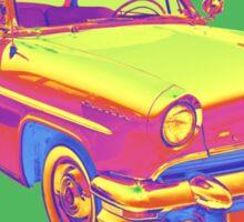 1955 Lincoln Capri Luxury Car Pop Art Sticker