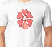 Orange Color Chakra Flowerkid Unisex T-Shirt