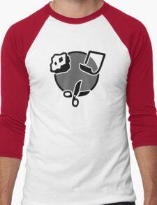 Rock Paper Scissors Men's Baseball ¾ T-Shirt