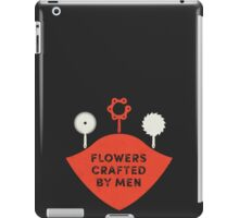 Flowers by Men iPad Case/Skin