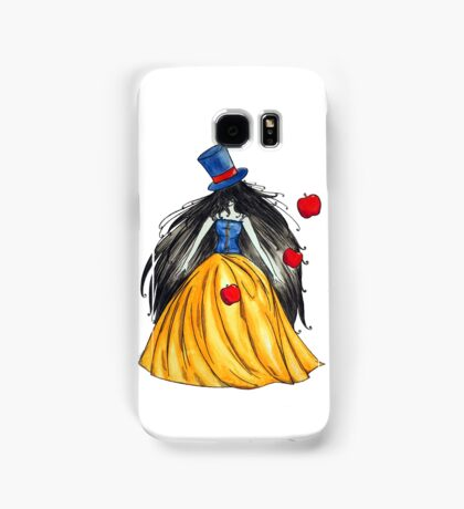 Who is the mad hatter ? Snow White | Blanche Neige  Samsung Galaxy Case/Skin