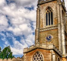 Orlingbury church HDR art  Sticker