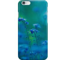 Daydream In Blue iPhone Case/Skin