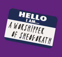 Hello I am - a worshipper of Sheogorath by nyaell