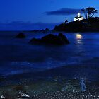 Historic Battery point lighthouse ,Ca. by pdsfotoart