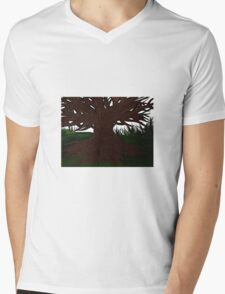 The tree Mens V-Neck T-Shirt