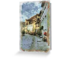 Street Greeting Card