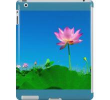 Yoga meditation lotus flower iPad Case/Skin