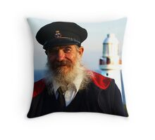 Otway Lighthouse Guide, Pat Howell Throw Pillow