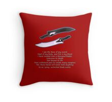Unlimited Blade Works Throw Pillow
