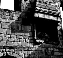 Monk Bretton Priory Fireplace Sticker