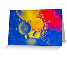 A Bubble Universe Greeting Card