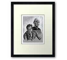 Passing of the Torch Framed Print