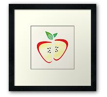 Retro Apple Framed Print