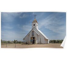 The Elvis Presley Memorial Chapel at Superstition Mountain Poster