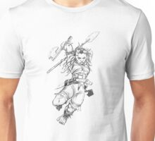 Dwarf Warrior (Female) Unisex T-Shirt