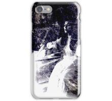 Dark Art vintage woman  iPhone Case/Skin