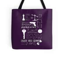 Bering and Wells Quotes Tote Bag