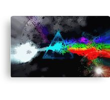 The Dark Side Of The Moon Reload #3 Canvas Print