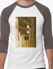Wooden Shipwrecks Men's Baseball ¾ T-Shirt