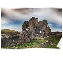 Castle In Ruins Poster