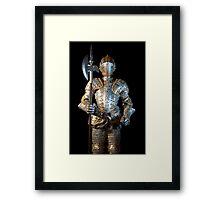 Man-at-arms Framed Print