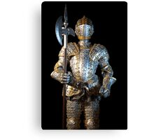 Man-at-arms Canvas Print