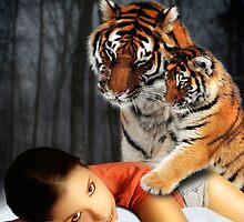Tiger Affection by CajunBeauty