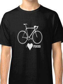 I <3 Fixies! Classic T-Shirt