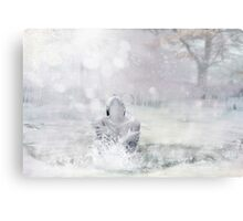 Cold to the Core Canvas Print