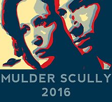 Scully/Mulder 2016 by vaboredwoolf