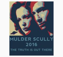 Scully/Mulder 2016 T-Shirt