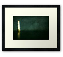 Unconscious Framed Print
