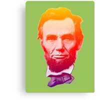Big psychedelic Abe  Canvas Print