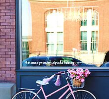 bike and store front by shilohrachelle