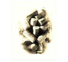 corks 1 Art Print