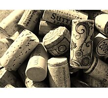 Wine Corks Photographic Print