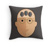 HUMANIMAL-the beasties in my head. Throw Pillow