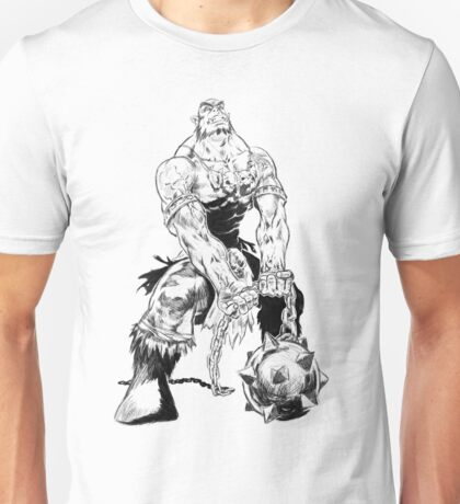 Grung the Orc Barbarian Unisex T-Shirt