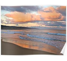 Great Ocean Road, Skenes Creek near Apollo Bay. Evening Light. Poster