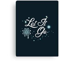 Let It Go - Frozen  Canvas Print
