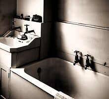 Bathroom Interior From Days Gone By by StephenRphoto