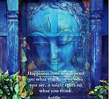 Buddha Happiness quote by goldenslipper