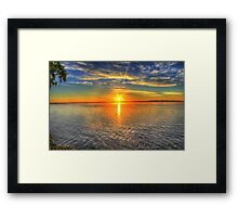 Landscape beautiful Framed Print